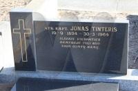 Jono Tinterio kapas 2011